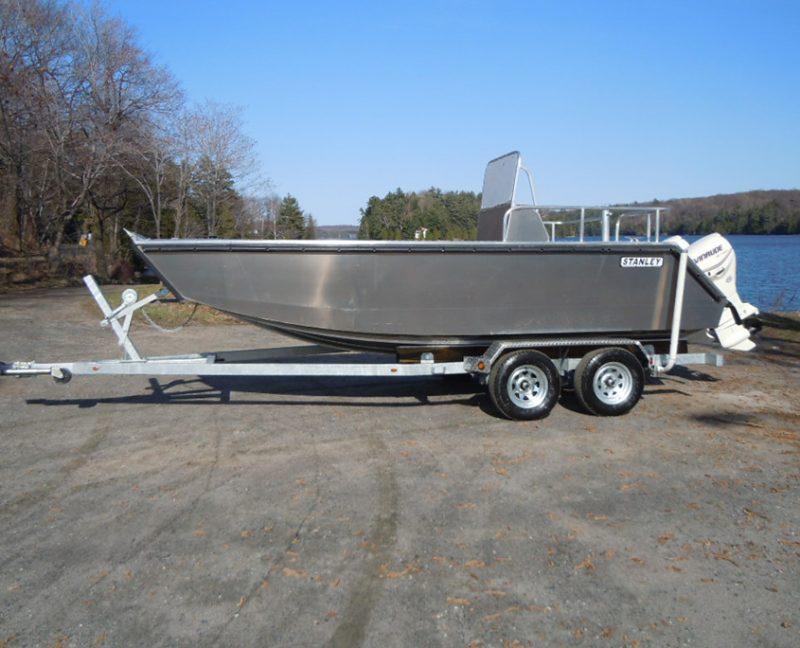18' Custom Boat Trailer built for Stanley Welded Aluminum Boat