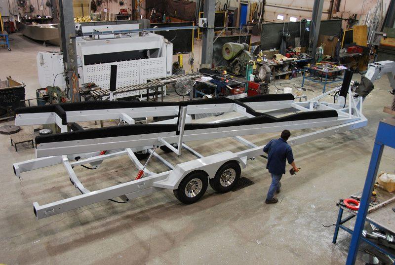 Custom Built Boat Trailer all welded Heavy Duty Boat Trailer