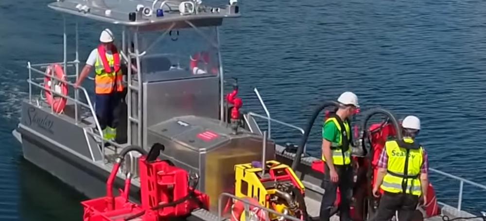 Stanley Boats' Spill Response Vessel